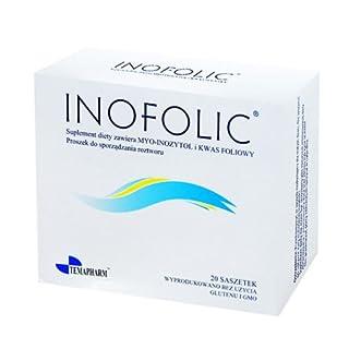 INOFOLIC 60 Sachets PCOS Treatment, Inositol & Folic Acid; Ovulation