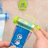 Dispenser di dentifricio in pasta Sucker Hanging Dentifricio Spremiagrumi - Verde