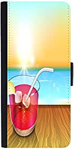 Snoogg Abstract Summer Backgrounddesigner Protective Flip Case Cover For Asus...