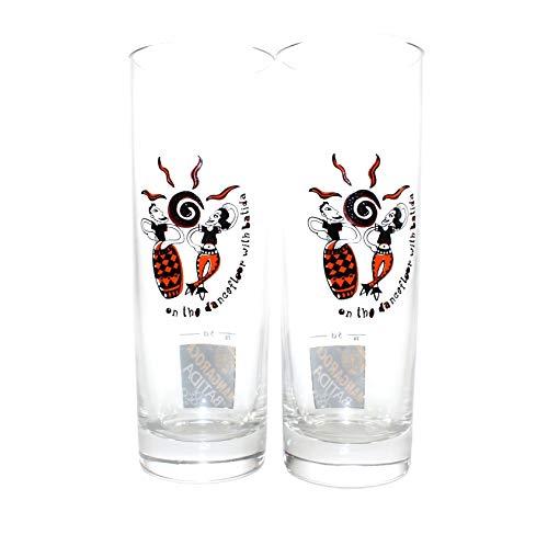 Batida de Coco Gläser 6er Set Mangaroca Likör-Glas geeicht Rastal made in Italia ~mn 844 5d1r