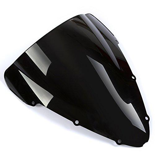 CICMOD Pare Brise Moto pour Honda CBR 600 F4I 01-08 02 03 04 05 06-Noir