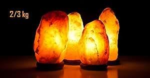 Lampada di sale Salgemma dell'Himalaya 2-3 kg