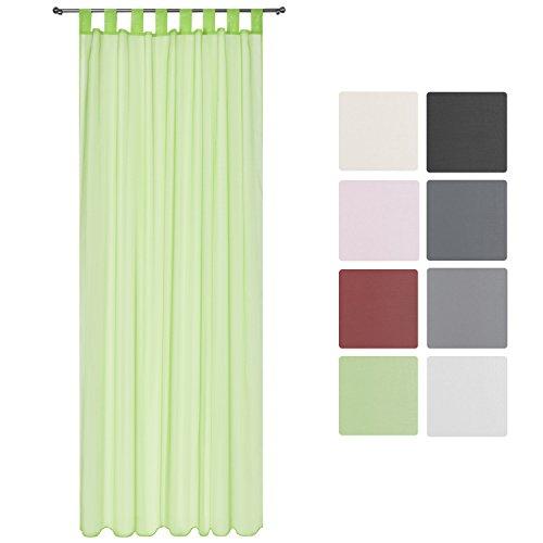 beautissur-voilage-transparent-uni-a-passants-amelie-140x245-cm-drape-decoratif-a-pattes-vert