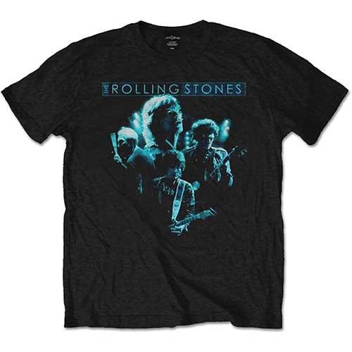 Rockoff Trade Herren T-Shirt Band Glow, Schwarz, Einheitsgröße Schwarz