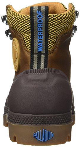 Palladium Sporcuf Wp2.0 U, Sneaker a Collo Alto Unisex-Adulto Giallo (Amber Gold/chocolate)