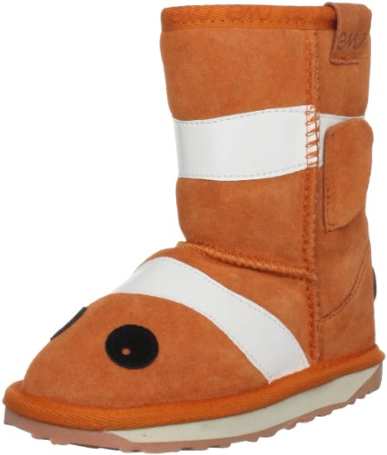 Emu Australia Junior Little Creaures Clown Fish Orange Classic Boot K10593 2 UK