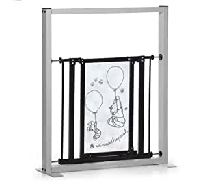 hauck barri re de s curit designer gate winnie l 39 ourson jeux et jouets. Black Bedroom Furniture Sets. Home Design Ideas