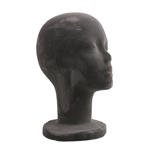 Generic Femme Modèle Tête en Mousse pour Affichage de Perruque Chapeau Casquette- Girs