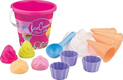 Androni giocattoli and1292-0000 - set mare cup cake gelati, colori assortiti