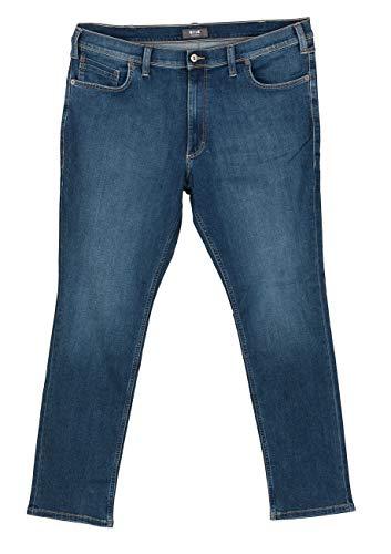 Schwarz Washington Jeans (Mustang Herren Jeans Washington - Slim Fit - Blau - Denim Blue, Größe:W 36 L 32, Farbe:Denim Blue (881))