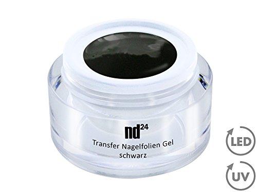 Nail Art - Transfert Nail Foils Gel noir