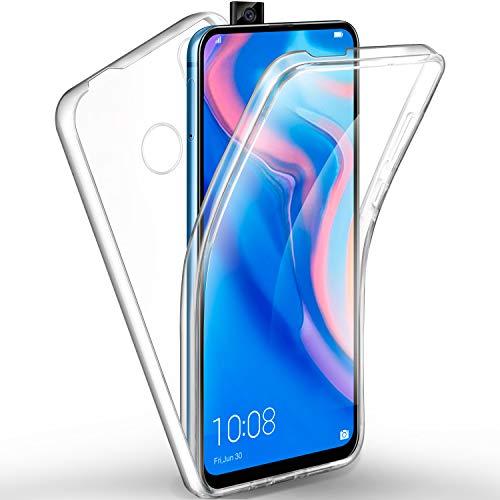 ivencase Cover Huawei P Smart Z, Huawei P Smart Z Custodia Transparent Silicone TPU e PC Full Body...