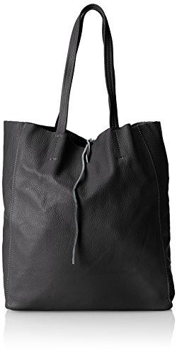 chicca-borse-bolso-mujer-negro-nero-35-cm