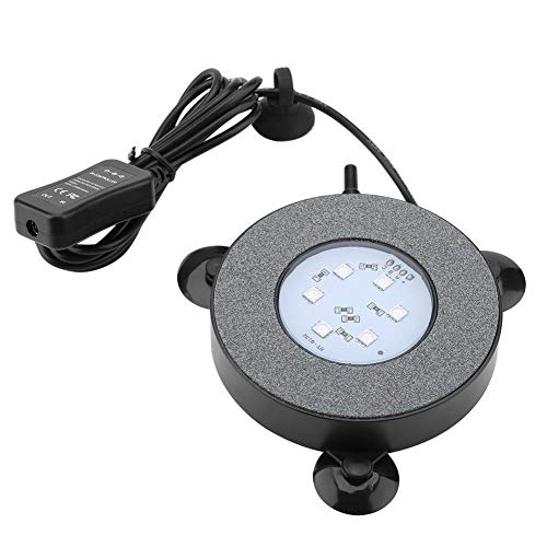 Zwei-lampe Flutlicht (Zyyini Aquarium Licht, LED Aquarium Blase Lampe Sauerstoffanreicherung Landschaftsbau Flutlicht für Aquarium(# 2))