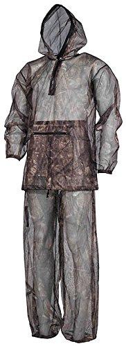 Moskitoanzug, 2-teilig Jacke und Hose, Mückenschutz Insektenschutz hunter-brown (XL/XXL)