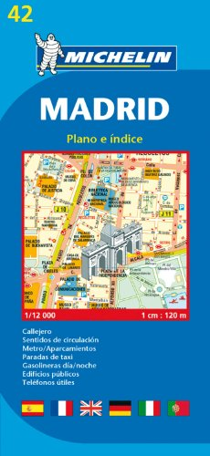 Plan Michelin Madrid par Cartographia