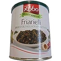 Gr 750friarielli Brócoli Alla Napoletana Cime de Rapa de aceite friariello Turnip Tops Oil