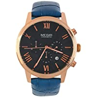 Swiftswan Montre-bracelet pour homme d'affaires à quartz avec bracelet en cuir Chronographe de sport Montre-bracelet... preisvergleich bei billige-tabletten.eu
