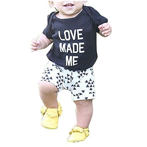 Bekleidung Longra Kinder Baby Kleinkind Mädchen Jungen Outfit Kleidung Brief