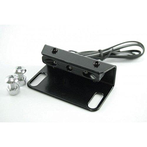 Mini LED Kennzeichenbeleuchtung mit Halter für Kennzeichenhalter Kennzeichenträger Nummernschild Halter / Halteplatte Universal Motorrad