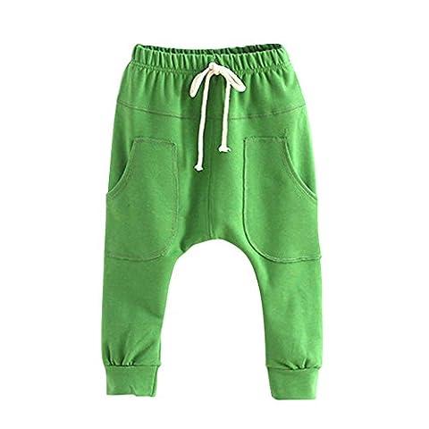 Brightup Enfants Garçons Filles Sarouel Pantalons Pour Printemps et Automne