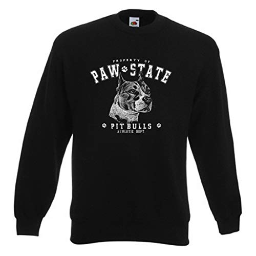 Sweater: Property of Paw State - Pit Bulls - Athletic Dept. Athletic Dept Sweatshirt