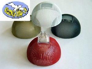 REFLEKTORSCHIRM Rot Reflektorkappe für Strahler Lampe Leuchte Strahler Dekokappe für Halogen LED MR16 12V Seilsystem