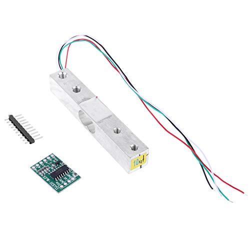 Preisvergleich Produktbild VvXx Wägezelle 10kg Waage Sensor Elektronische Küchenwaage + HX711 AD Wiegemodul für Arduino