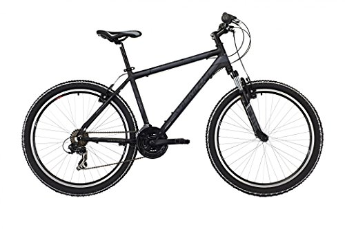 Serious Rockville 26″ black/grey Rahmengröße 46 2017 MTB Hardtail