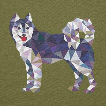 Texlab–Poly Dog–sacchetto di stoffa Oliva