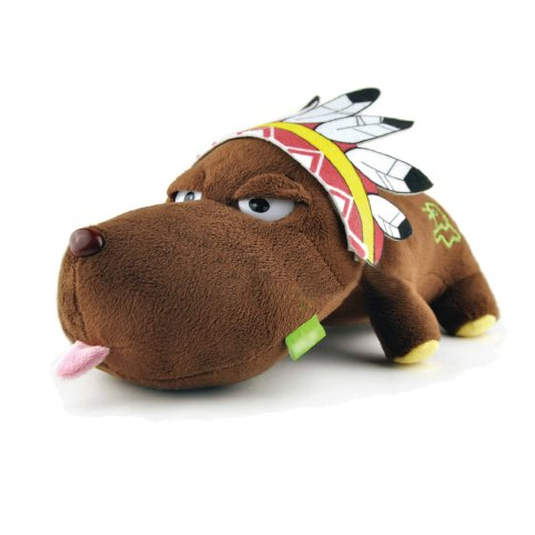 Samgoo Auto Natürlicher Lufterfrischer Bambus Kohle Plüsch Gefüllte Spielzeug als Haus Dekoration / Luftentfeuchter,Luftreiniger für Neue Auto,110g Aktivkohle Entfernen Formaldehyd (Inder Hund)