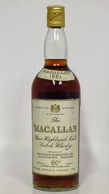 Macallan - Pure Highland Malt Scotch - 1961