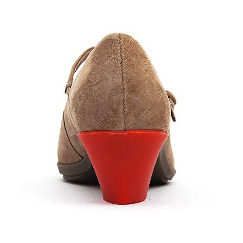 CAMPER, Scarpe col tacco donna Grigio (Grey / Red)