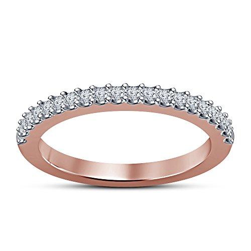 Vorra Fashion argento 925placcato oro rosa 14K