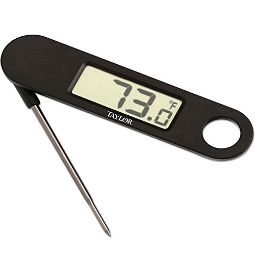 Taylor 1476 Compact Digital Folding Thermometer by Taylor -