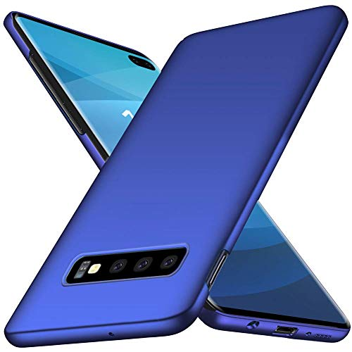 TenYll Cover per Samsung Galaxy S10, [Ultra Sottile Leggero] [Anti-Graffi], Ultra Leggero Protetto PC Duro Case Custodia per Samsung Galaxy S10 -Blu