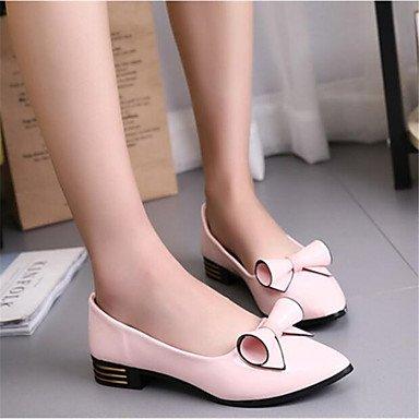 Scarpe Donna FYZSDONNA Appartamenti Primavera Estate Autunno Club Shoes Pu Ufficio esterno e carriera casuale che cammina tacco grosso US8.5 / EU39 / UK6.5 / CN40
