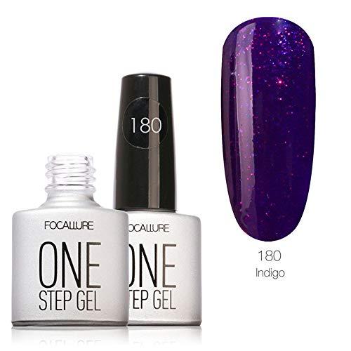feiXIANG Vernis à ongles 7ml Semi-permanent Nail Polish UV LED Soak Off Gels Manucure 20 Couleurs