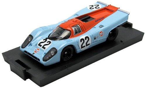 Brumm–R495–Fahrzeug Miniatur–Modell Maßstab–Porsche 917K Gulf–Le Mans 1970–Maßstab 1/43