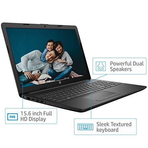 HP 15 Intel Core i5 (8GB DDR4/1TB HDD/Win 10/MS Office/Integrated Graphics/2.04 kg), Full HD Laptop (15.6-inch, Sparkling Black) 15q-ds0029TU Image 5