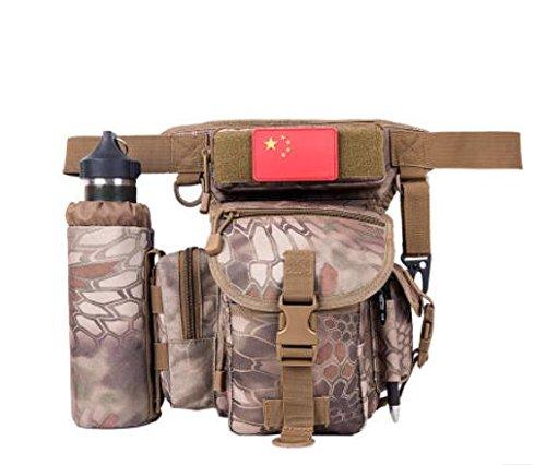 Zll/Multifunktionale Multifunktionell Tactical Leg Herren Leinwand Hüfttasche Licht Outdoor Dedicated Tactical Taschen jungle mang lines