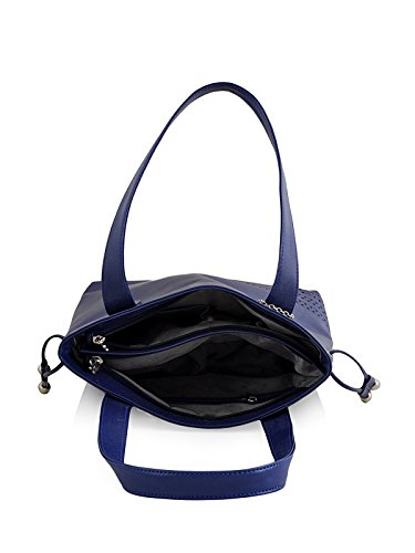 Butterflies Women's Handbag (Blue) (BNS 0608BL)