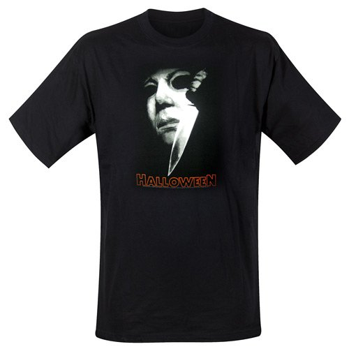 (Halloween T-Shirt Michael Meyers Knife Größe L (large) horror movie artwork)