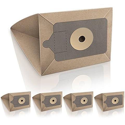 ✧WESSPER® Bolsas de aspiradora para Numatic PSP 200-11 (5 piezas, papel)