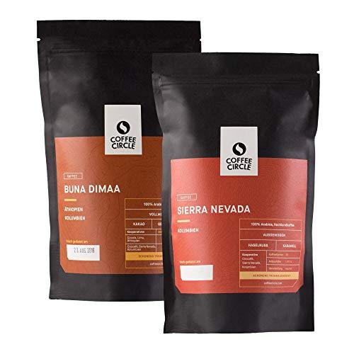 Coffee Circle | Premium Kaffee Geschenk | 2 x 350g gemahlen | Vollmundige Filterkaffees im Set |...