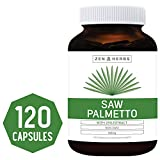 Best Saw Palmetto 120 Capsules (NON-GMO) - Support Prostate Health to Reduce Frequent