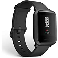 Amazfit Bip Smartwatch by Huami with All-Day Heart Rate and Activity Tracking, Sleep Monitoring, GPS, Ultra-Long Battery Life, Bluetooth, IP68 Waterproof