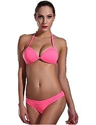 AMYMGLL dames Bikini maillot de bain mince chaude maillot de bain de printemps en Europe et aux États-Unis populaire flexibilité environnementale élevée