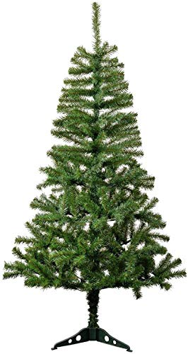 Urban Festivities 3 feet Artificial Christmas Tree Xmas Tree with Solid Legs, Light Weight, Perfect for 3Ft Christmas Tree Decoration