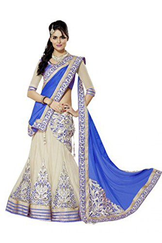 White World Women\'S Clothing Lehenga Choli In Multi Color Free Size Party Wear